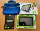LeapFrog Epic Tablet Bundle Factory Reset in Box w/ Case & Screen Protectors