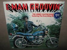 JIMMY CASTOR BUNCH E-Man Groovin RARE SEALED NM New Vinyl LP 1976 SD-18186 NoCut