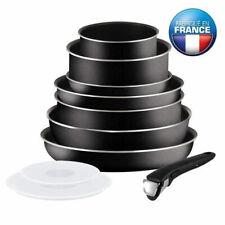Batterie Cuisine Tefal Set 10 Pièces Casseroles Ingénio Tous Feux Sauf Induction