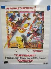 The Fabulous Thunderbirds Tuff Enuff Album Blues Rock Original Vintage Poster