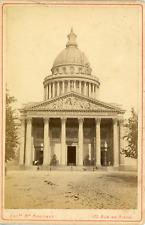 Maison Martinet, France, Paris, Panthéon, ca. 1880, vintage albumen print Vintag