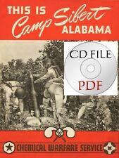 CD File Camp Silbert, Alabama Chemical Warfare - WWII