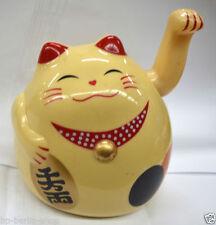 Münzen mit Katzen-Glücksbringer Feng Shui