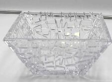 Tiffany Square Crystal Bowl Made In Germany