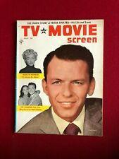 "1955, Frank Sinatra, ""Tv & Movie"" Magazine (No Label) Vintage"