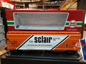 LGB 40823 SCLAIR 3-Bay Center Flow Covered Hopper * Original Box * G Scale