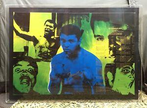 Steve Kaufman - Muhammad Ali #2 - Screen Print on Canvas COA 49/99 Warhol