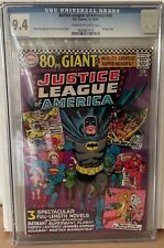 JUSTICE LEAGUE OF AMERICA #48 - CGC 9.4 - 80 PAGE GIANT