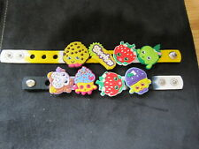 PVC SHOE CHARMS WRISTBANDS CHARMS ASSORTED CHARACTERS