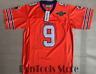 The Waterboy Football Jersey Stitched #9 Bobby Boucher 50th Anniversary Movie