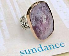 NEW $1,200 Sundance 6-3/4-7 JES MAHARRY Pink Sapphire RING 22kt Rose Gold Silver
