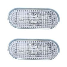 VW Golf Mk4 1997-2004 Clear Side Indicator Repeaters Pair Left & Right