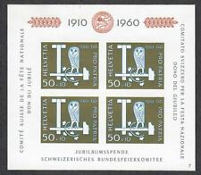 $Switzerland Sc#B297 M/NH/VF, S/S, Cv. $40