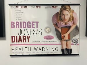 Bridget Jones, Original UK Quad Sheet Movie Poster
