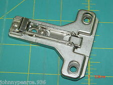 One Salice BAU3R19 1mm Face Frame Hinge Mounting Plates Screws Included