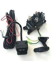 ATV Winch Contactor Solenoid Relay & Winch Switch