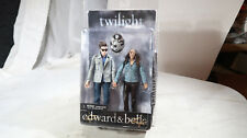 NECA 2009 Twilight CARDED Edward and Bella Action Figures