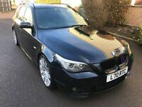 BMW 520d M Sport 5 Series E61 LCI Touring in Carbon Black N47B20A Engine