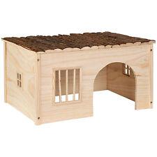 Casa casita de roedores madera roedores conejillo de indias hámster tamaño L NUE