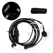 1-Pin 2.5mm Throat Microphone Earpiece Headset Mic PTT For Two-Way Radio Talkie