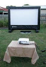HandiTheatre HD Package - 2.5 m Outdoor Home Cinema System Backyard Home Theatre