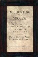 Accounting for Success: A History of Price Waterhouse in America-ExLibrary