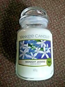 New Yankee Candle midnight jasmine - large  jar -  great gift