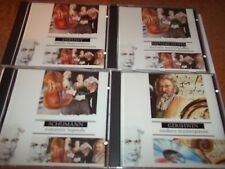 4 Classical Collections cd Gershwin Schumann Mendelssohn Debussy FREE POST