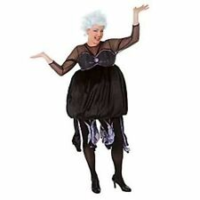NEW Disney Store URSULA Sea Witch ADULT DRESS M Halloween Costume LITTLE MERMAID