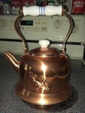 Old Dutch International solidcopper tea pot