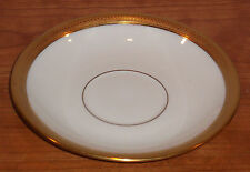 DISCONTINUED LENOX CHINA  LOWELL PATTERN  SAUCER ONLY for 2-handle soup MINT