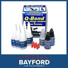 Q-BOND PLASTIC REPAIR KIT SYSTEM - PROFESSIONAL/TRADES USE - QBOND