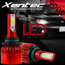 Pair XENTEC LED Headlight Conversion Kit 9005 HB3 H10 388W 6500K 38800LM Bulbs