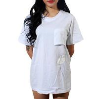 Plus Size Women Print Top T-Shirt Short Sleeve Ladies Summer Casual Blouse Tee