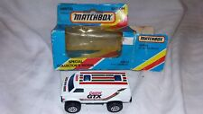Matchbox MB 68 Castrol GTX Special Collector's Model 1981.