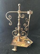 Bougeoir Fer Forgé Lumière Candlestick wrought iron