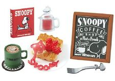 05/2017 Re-Ment Miniature Peanuts Snoopy Vintage Cafe Set # 2 Strawberry Waffle