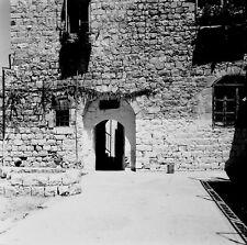 SAFED c. 1960 - Maison Haut Lieu Kabbaliste Israël - Négatif 6 x 6 - ISR 63