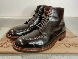 Alden Color 8 Shell Cordovan Indy Boot Size 8.5 B/D Mint Condition