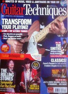 Guitar Techniques magazine & CD: Spring 2012