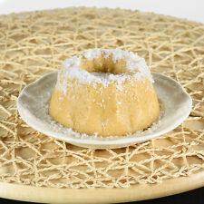 Handmade Mini Bundt Cake Candle - Butter Rum w/ Vanilla Powdered Sugar Scented