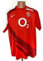 ENGLAND NATIONAL TEAM 2008/2009 RUGBY UNION SHIRT JERSEY NIKE SIZE XL ADULT