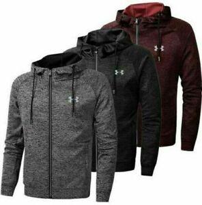Men's New Autumn Under Armour Hoodie Hoody Hooded Sweatshirt Jacket