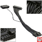 Dual PSU Power Supply 24-pin ATX Motherboard Mainboard Adapter Connector Cable