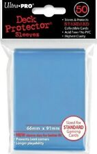 Ultra Pro Deck Protector Sleeves - Standard Sized - Light Blue (100 Count)