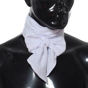 Retro 19 Century Men's Costume Ascot Tie Fancy Dress Party Cravat Formal Cravat