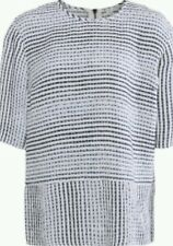 Derek Lam Striped Ombre Silk Top 100% Authentic Guaranteed