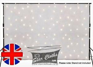 3M X 2M STATIC WHITE LED STAR CLOTH STAR CLOTH WHITE FABRIC STARCLOTH