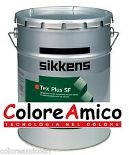 Sikkens Tex Plus SF Idropittura Traspirante Bianco x interni 15 lt no solventi