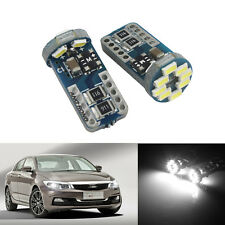2x Veilleuses LED W5W T10 Canbus 12 SMD voiture moto ANTI ERREUR XENON Ampoules